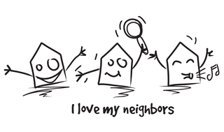 I love my neighbors-Yakaz