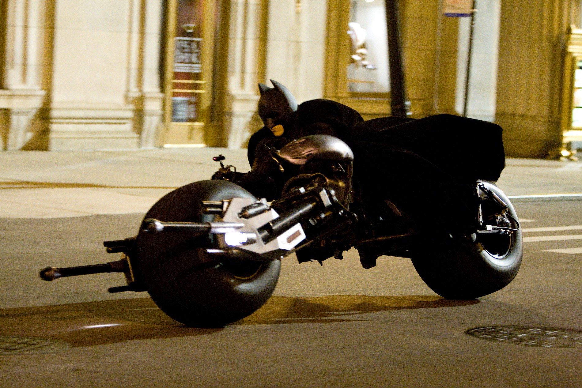 Batman dark knight motorcycle